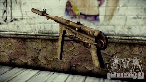 Silenced MP40 from Call of Duty World at War для GTA San Andreas второй скриншот