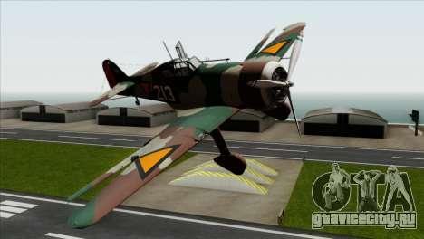 Fokker D.XXI для GTA San Andreas