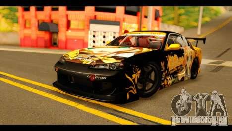 Nissan Silvia S15 Kagamine Rin Itasha для GTA San Andreas