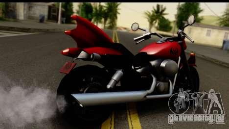 Honda Shadow 750 для GTA San Andreas вид слева