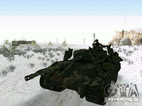 Panther для GTA San Andreas вид сзади слева