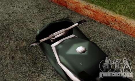 GTA LCS PCJ-600 для GTA San Andreas вид сзади