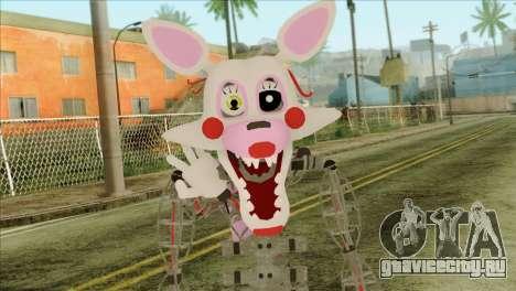 Mangle from Five Nights at Freddy 2 для GTA San Andreas третий скриншот