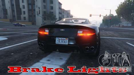 Стоп-сигналы для GTA 5