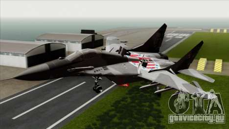 MIG-29A Polish Air Force Kosynierzy для GTA San Andreas