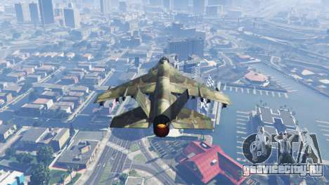 Hydra green camouflage для GTA 5 третий скриншот