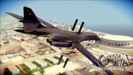 B-1B Lancer Camo Texture для GTA San Andreas вид слева