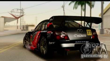 Subaru Impreza WRX STI 2003 JGTC для GTA San Andreas вид слева