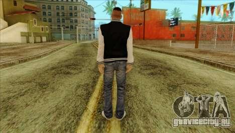 Luis Skin from GTA 5 для GTA San Andreas второй скриншот