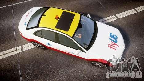 Mercedes-Benz C180 FlyUS для GTA 4 вид справа