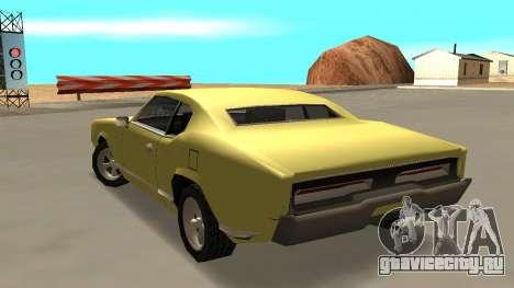 Sabre Charger для GTA San Andreas вид слева