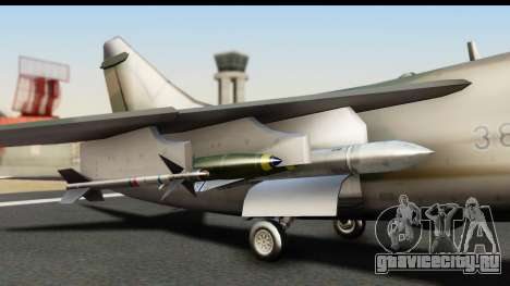 Ling-Temco-Vought A-7 Corsair 2 Belkan Air Force для GTA San Andreas вид справа