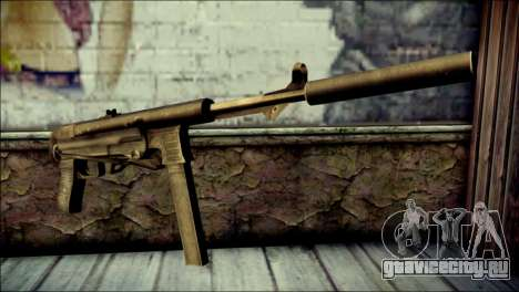 Silenced MP40 from Call of Duty World at War для GTA San Andreas