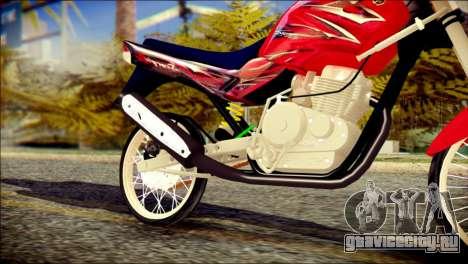 Yamaha Scorpio Z для GTA San Andreas вид справа