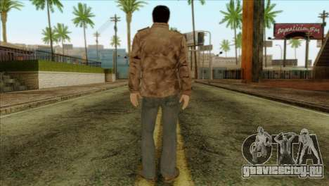 Classic Alex Shepherd Skin without Flashlight для GTA San Andreas второй скриншот