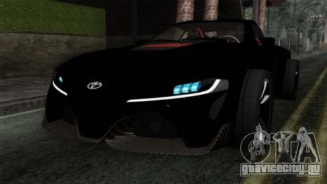 Toyota Supra FT v2 для GTA San Andreas