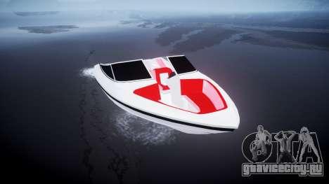 Скоростной катер для GTA 4