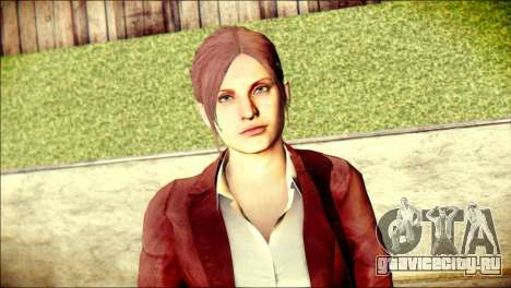 Claire Redfield from Resident Evil для GTA San Andreas третий скриншот
