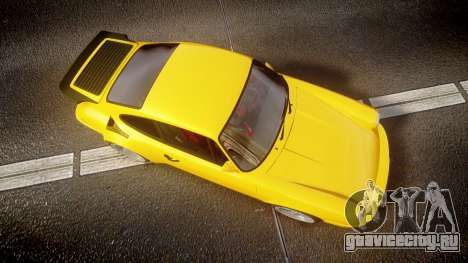 RUF CTR Yellow Bird для GTA 4 вид справа