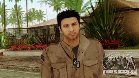 Classic Alex Shepherd Skin without Flashlight для GTA San Andreas третий скриншот
