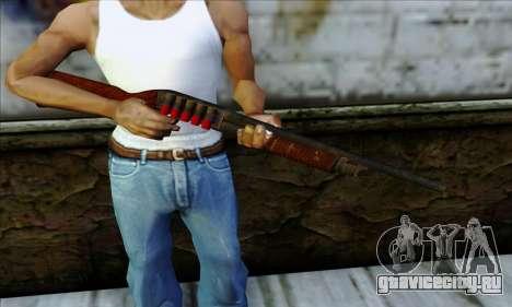 M37 Ithaca Long SS для GTA San Andreas третий скриншот