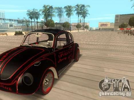 Volkswagen Super Beetle Grillos Racing v1 для GTA San Andreas вид справа