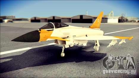 EF-2000 Typhoon  Federal Erusea Air Force для GTA San Andreas