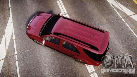 Toyota Hilux SW4 2015 для GTA 4 вид справа