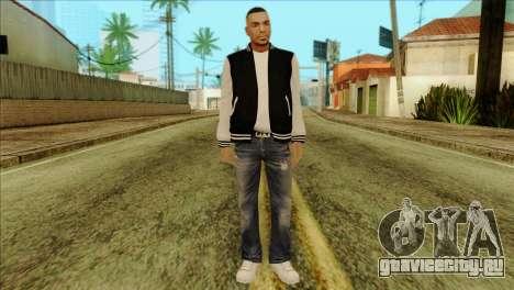 Luis Skin from GTA 5 для GTA San Andreas