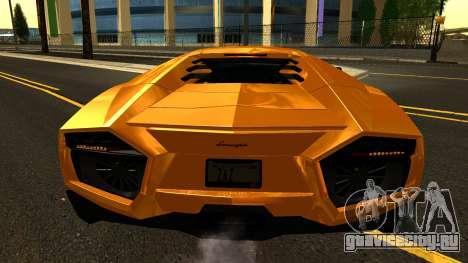 Lamborghini Reventon 2008 для GTA San Andreas вид сбоку