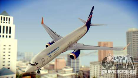 Boeing 737-800 Aeroflot для GTA San Andreas