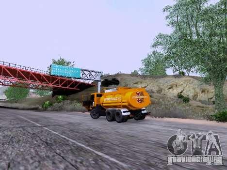 КамАЗ 53212 для GTA San Andreas вид сзади