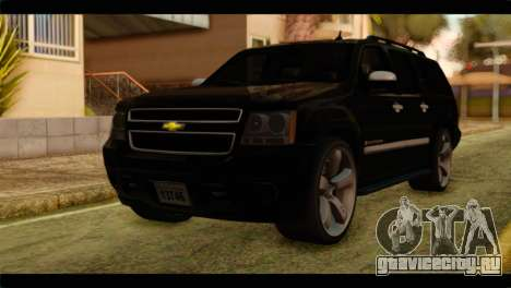 Chevrolet Suburban 2010 FBI для GTA San Andreas