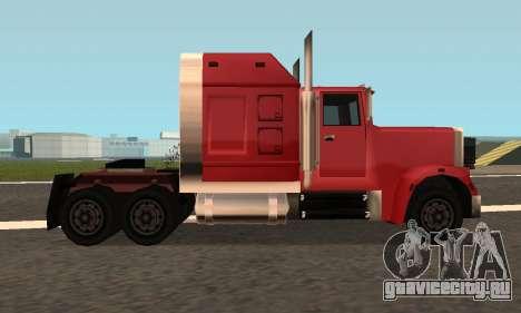 PS2 Linerunner для GTA San Andreas вид сзади слева