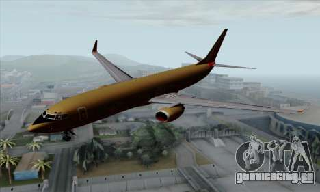 Boeing 737-800 Southwest Gold для GTA San Andreas