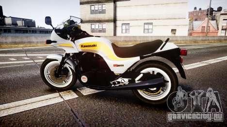 Kawasaki GPZ1100 для GTA 4 вид слева
