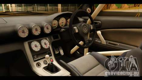 Nissan Silvia S15 Kagamine Rin Itasha для GTA San Andreas вид справа