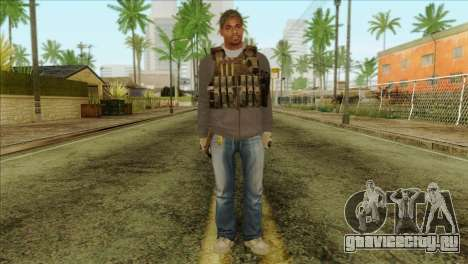 Technician from PMC для GTA San Andreas