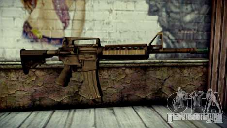 Rumble 6 Assault Rifle для GTA San Andreas
