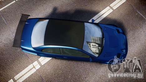 Ubermacht Sentinel STD Sport для GTA 4 вид справа