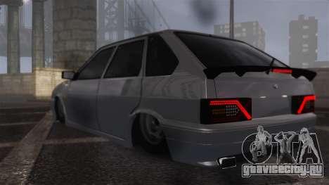 ВАЗ 2114 для GTA 4 вид слева