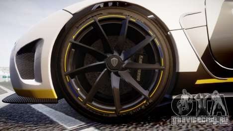 Koenigsegg Agera 2013 Police [EPM] v1.1 PJ3 для GTA 4 вид сзади