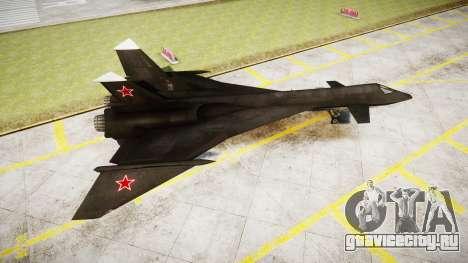 МиГ-31 Огненный лис для GTA 4 вид слева