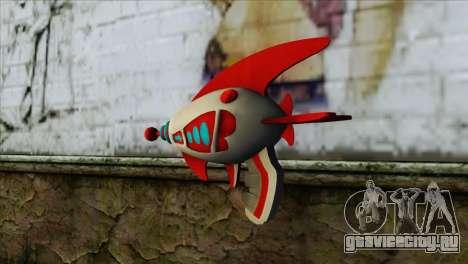 Dead Or Alive 5 LR Kasumi Fighter Force Gun для GTA San Andreas второй скриншот