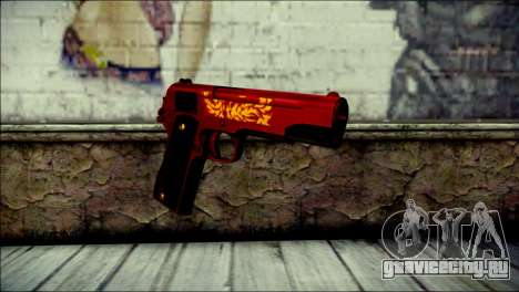 Dual Colt Red Dragon CF для GTA San Andreas