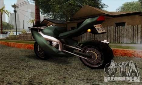 GTA LCS PCJ-600 для GTA San Andreas вид слева