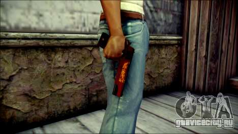 Dual Colt Red Dragon CF для GTA San Andreas третий скриншот