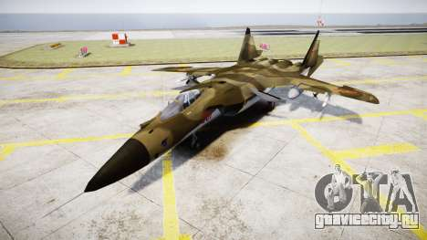 Су-47 Беркут forest для GTA 4