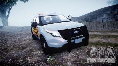 Ford Explorer Police Interceptor [ELS] marked для GTA 4