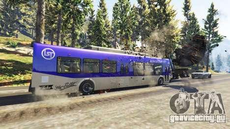 Тяжёлые автобусы и грузовики для GTA 5 второй скриншот